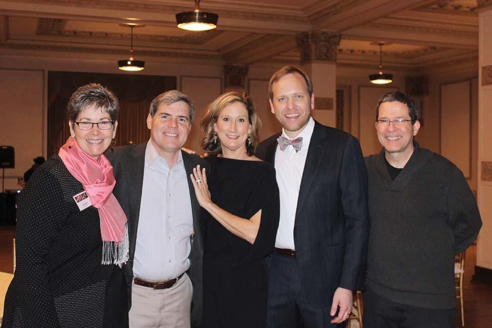 Ann Owen, Bill and Shanti Halter, Nathan Vandiver, Rick Owen