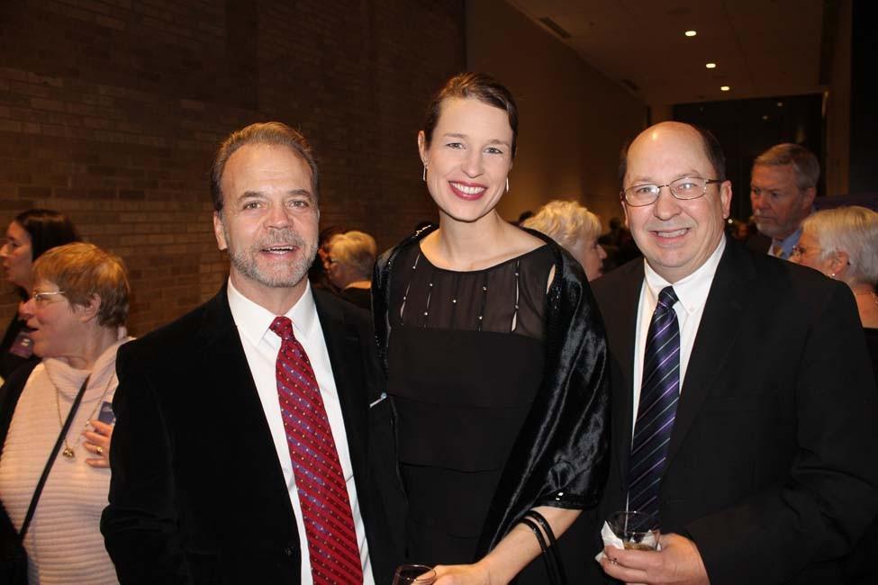 Bill Fitzgerald, Gretchen Hall, Jim Rice