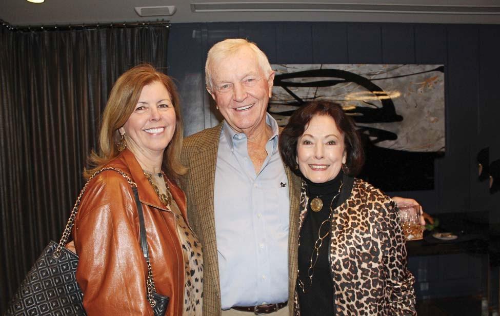 Cathy and Hank Browne, Gloria Redman