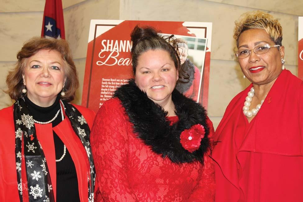 Susie Thompson, Shannon Beard, Mona Lisa Mallory