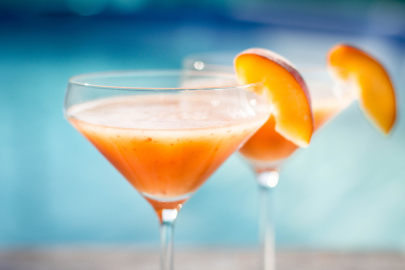 Sip This: Mathilde Peach Passion Cocktail
