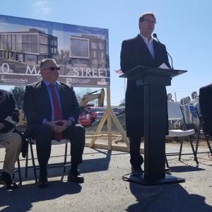 Companies Break Ground on $10M Argenta Office Building