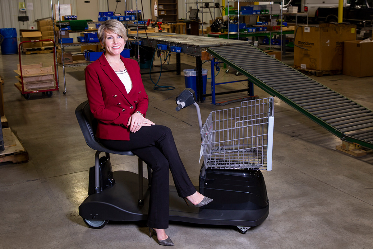 CEO Erin Kiefer Proud to Follow Dad's Cart Path