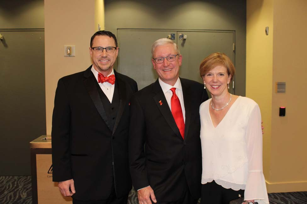 Scott Worth, Dr. Tom and Lori Conley