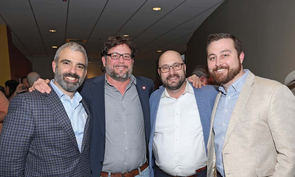 Harry Cotros, Scott McGehee, Jimmy Long, Paul Vance