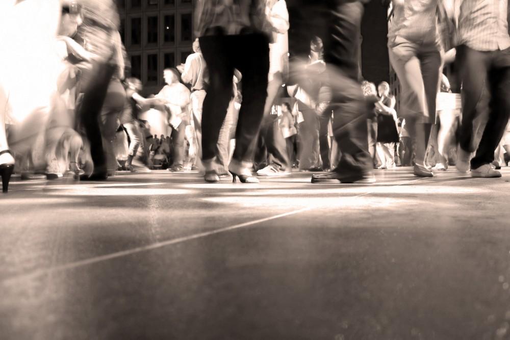 Dancing dance floor