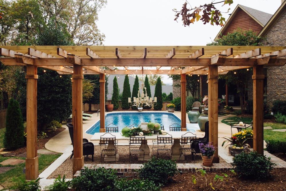 The Good Earth Garden Center landscape design backyard