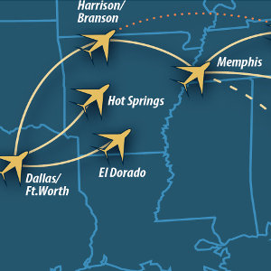 Southern Airways Express Delivers EAS Reliability in 3 Towns