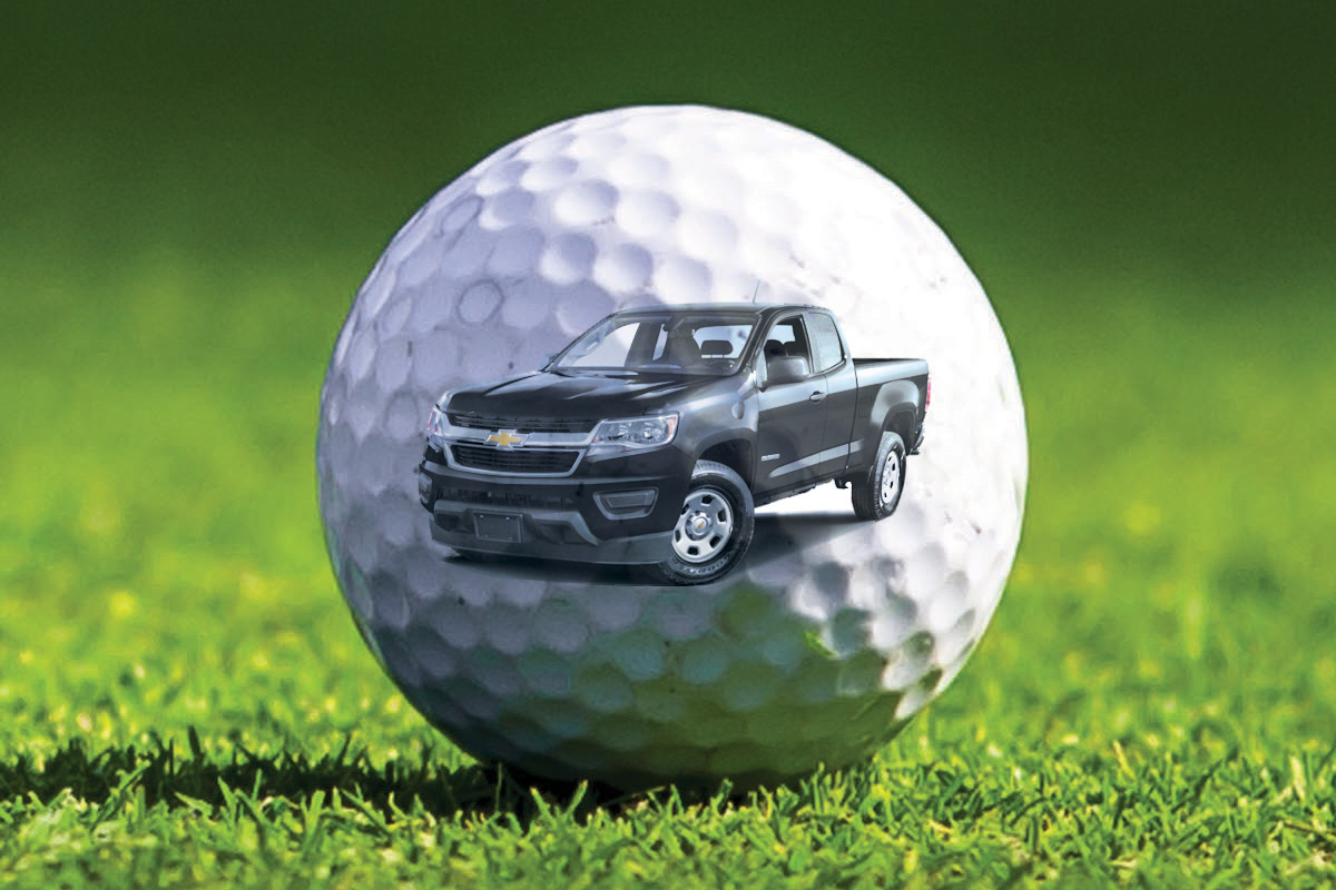 Benton Golfer Claims to Have Been Cheated Out of Truck Prize
