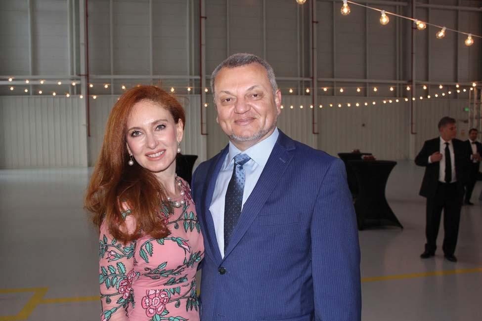 Marina and Mikhail Ivanovsky