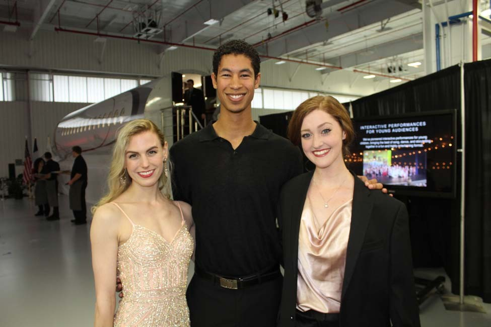 Lauren Bodenheimer Hill, Zeek Wright, Deanna Gerde.