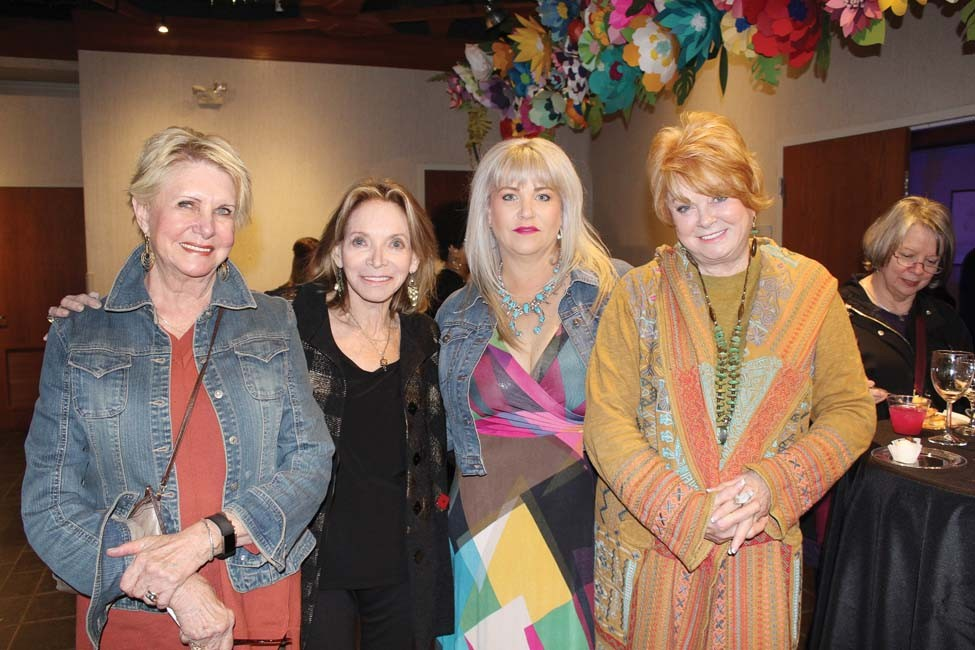 Sandra Holloway, Linda Barg, Angie Harris, Trish Walker