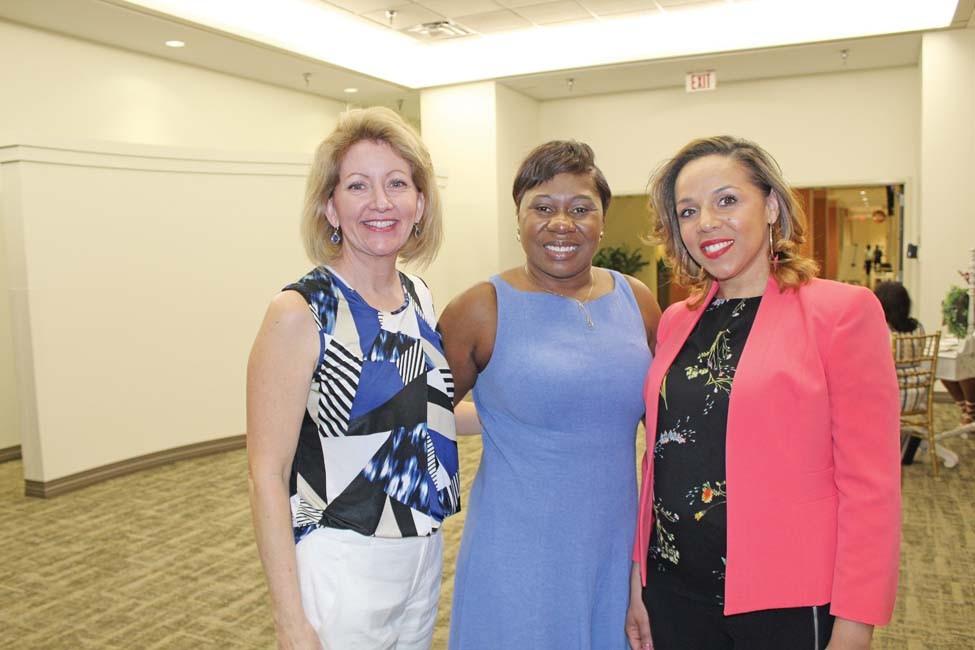 Cheryl Williams, LaTanya Bennett, Rasheda Morris