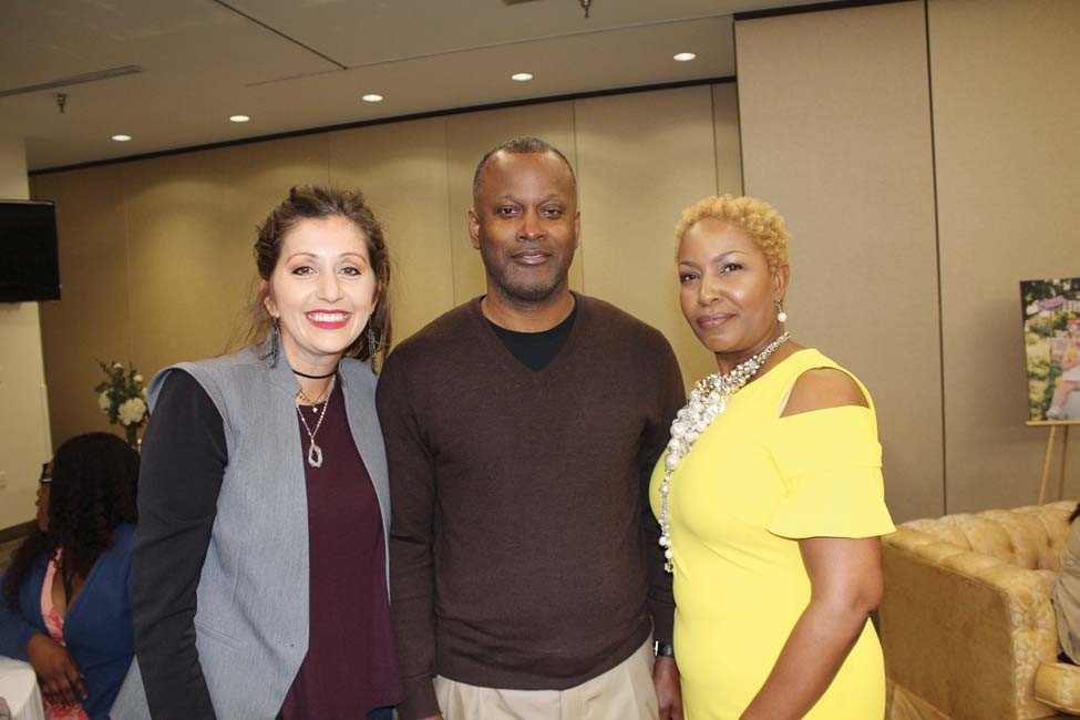 Dina Vinson, Charles and Tracey Caradine