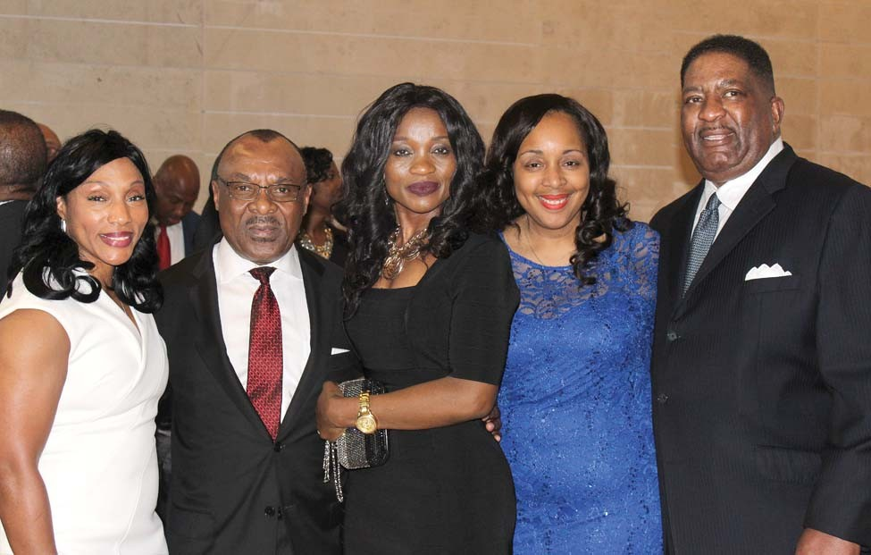 Doris Washington, John and Jennifer Ekeanyanwu, Pam and Elder London