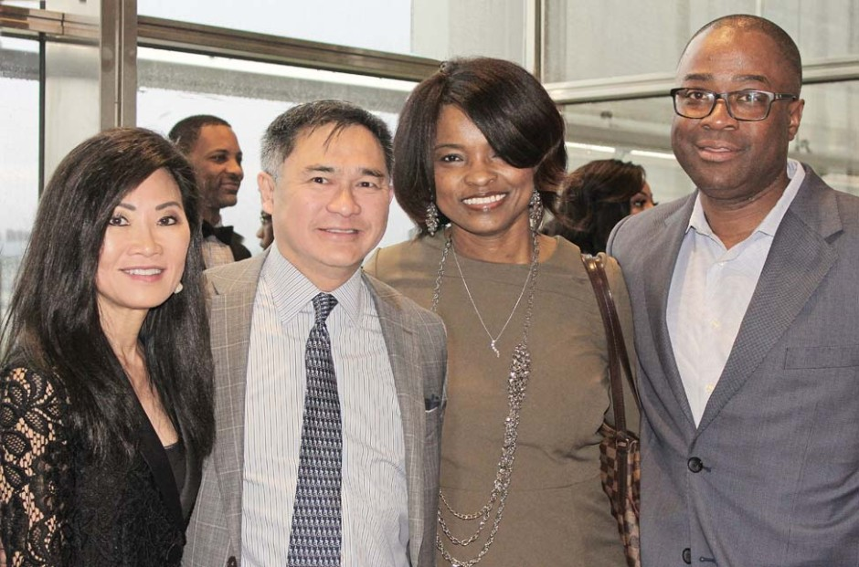 Dr. Suzanne and Bill Yee, Sharon and Judge Dion Wilson