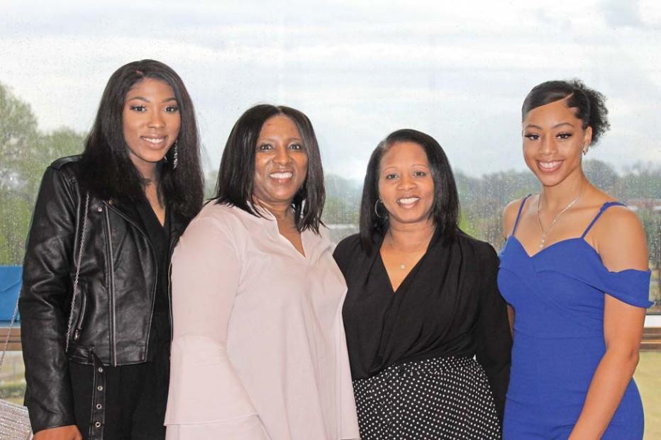 Jordan Lambert, Annette Taylor, Keisha Harris, Basia Brown