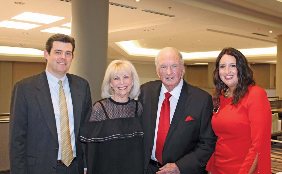 Perry Wilson, Polly and Dr. Ed Jackson, Kathleen Lawson