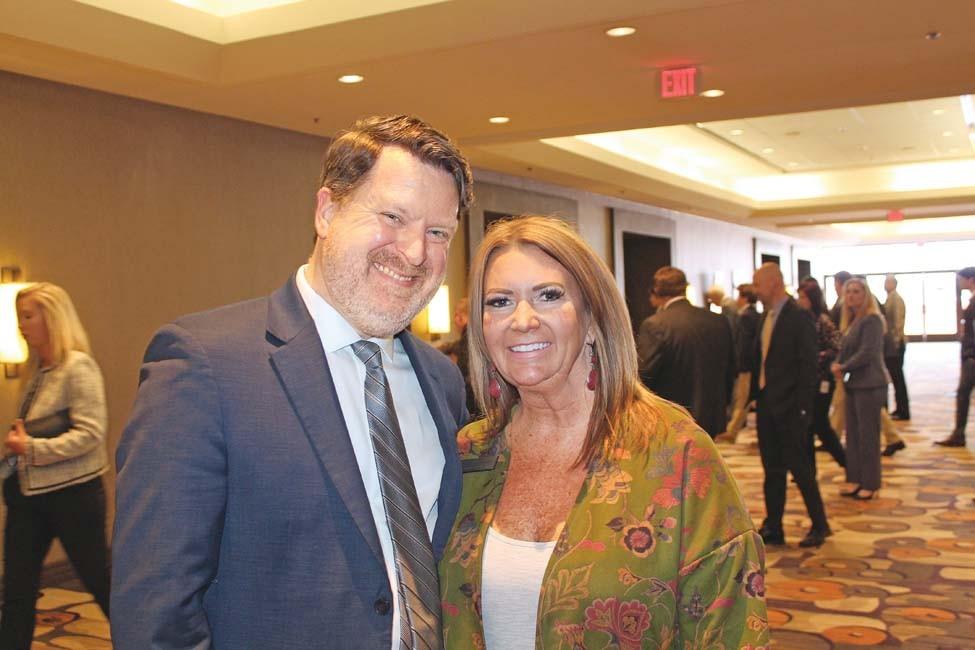 Matt Buie and Jennifer Owens