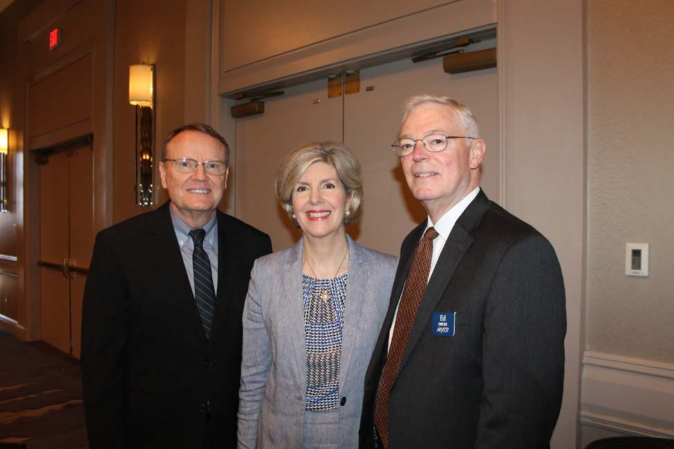 Roy Wilson, Sue and Ed Owens