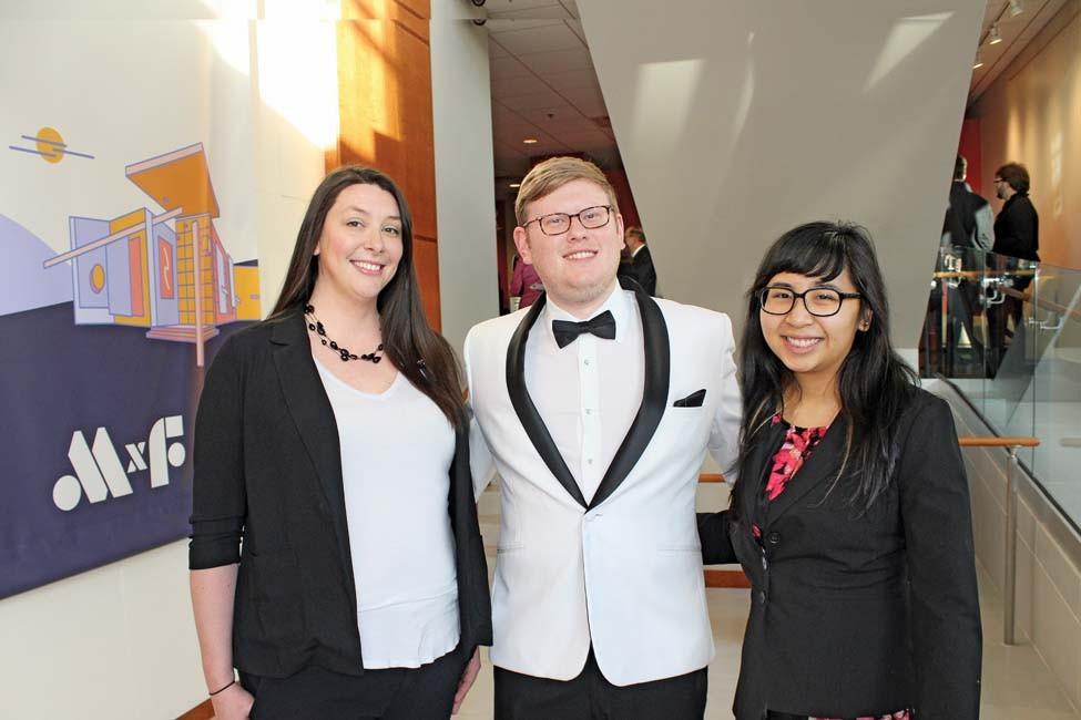 Jessica Everson, Dillon Hupp, Katie Barnes