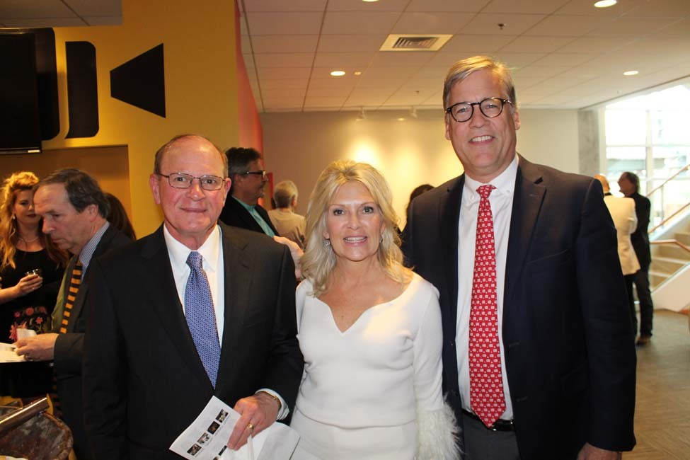 Dr. David Dean, Pam and Jay Gadberry