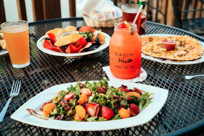 Cajun's Wharf's signature cocktail is the Play-De-Do 126525