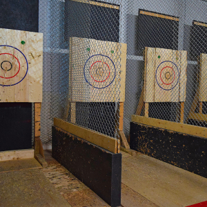 Indoor Axe Throwing Center Hopes to Make the Cut with NLR