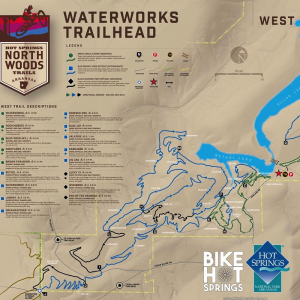Phase One of Hot Springs' New Biking Trail System Is Complete