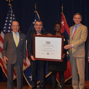 Safe Foods Gets National Award for Export Work