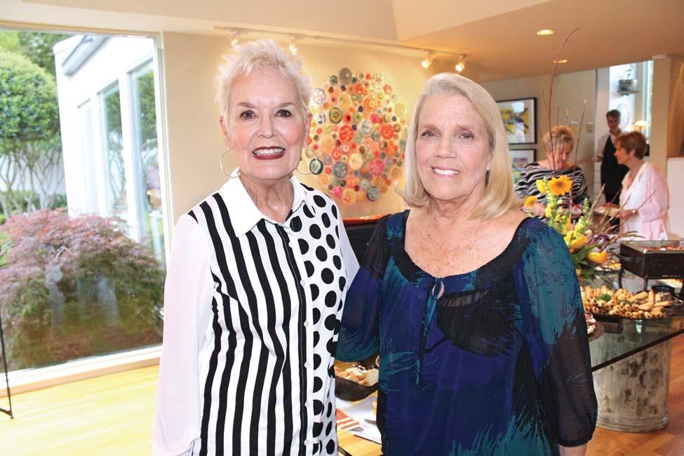 Connie Reinhardt, Sharon Heflin