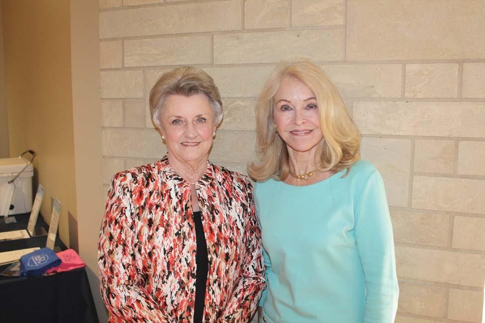 Mary Huey, Barbara Pence