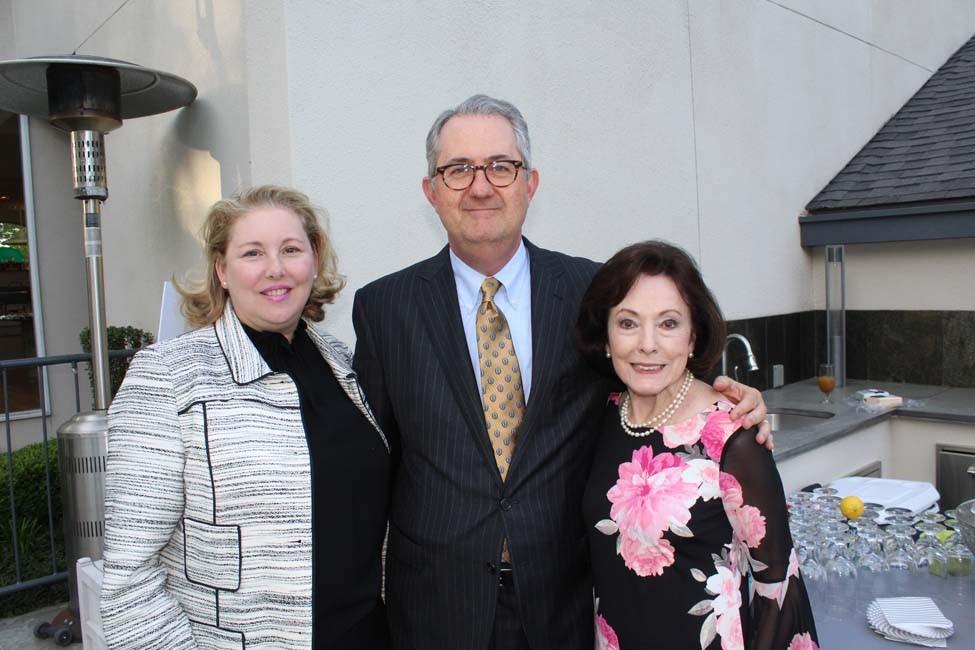 Judith and Tim Goodson, Gloria Redman