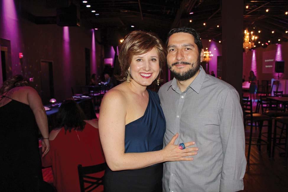 Sarah Catherine and Jorge Gutierrez