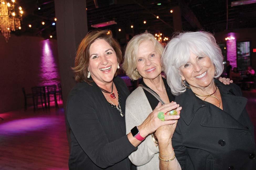 Camille Bennett, Emma McCrary, Kay Bevis
