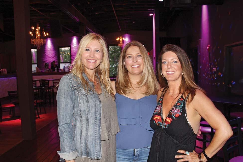 Theresa Middleton, Lisa Garrett, Dayna Hill