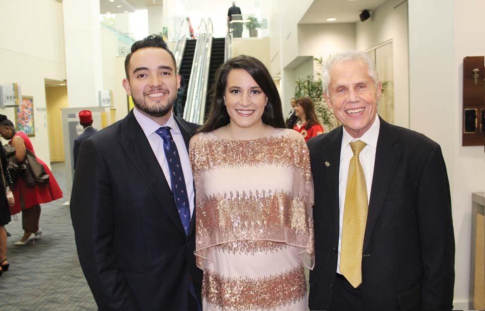 Miguel Lopez, Summer Khairi, Aaron Lubin