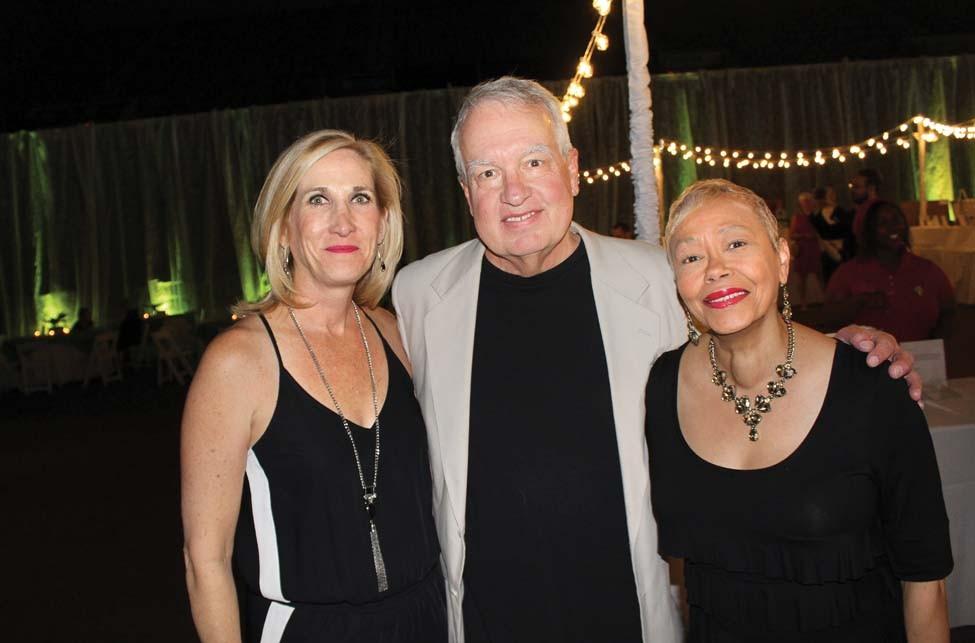 Donnette and David Napier, Valerie Pruitt