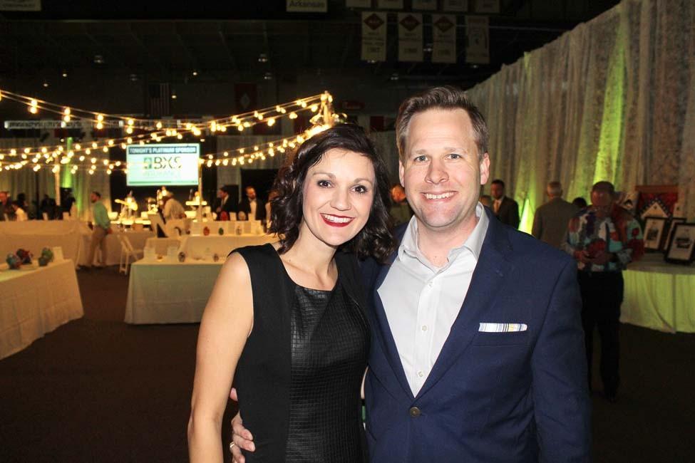 Sarah and Shea Mathews