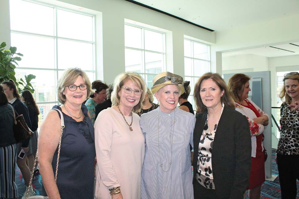 Aldye Ann McClellan, Bonnie Williamson, Marilyn Zornik, Pattie Davis