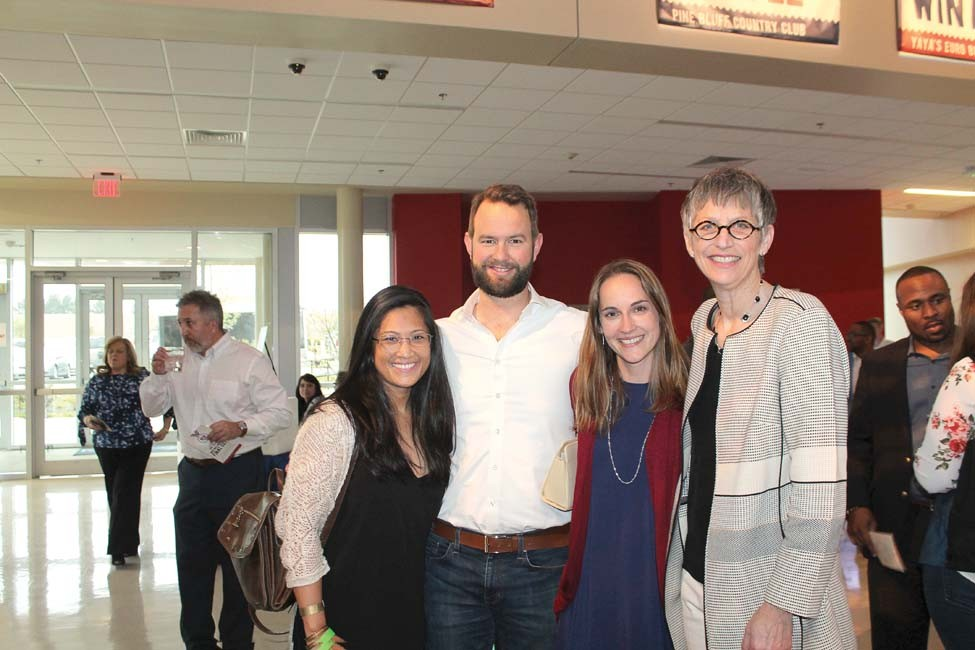 Stephanie Ong, Andrew Parker, Robin Connell, Margaret Ellibee