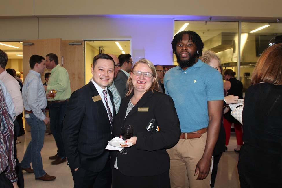 Josh Price, Susie Cowan, Damarco Johnson