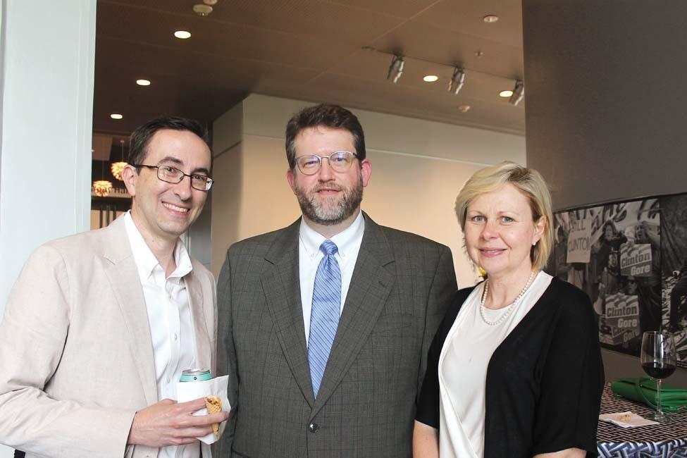 Dr. Robbie Pesek, Dr. Ashley Ross, Dr. Renee Bornemeier