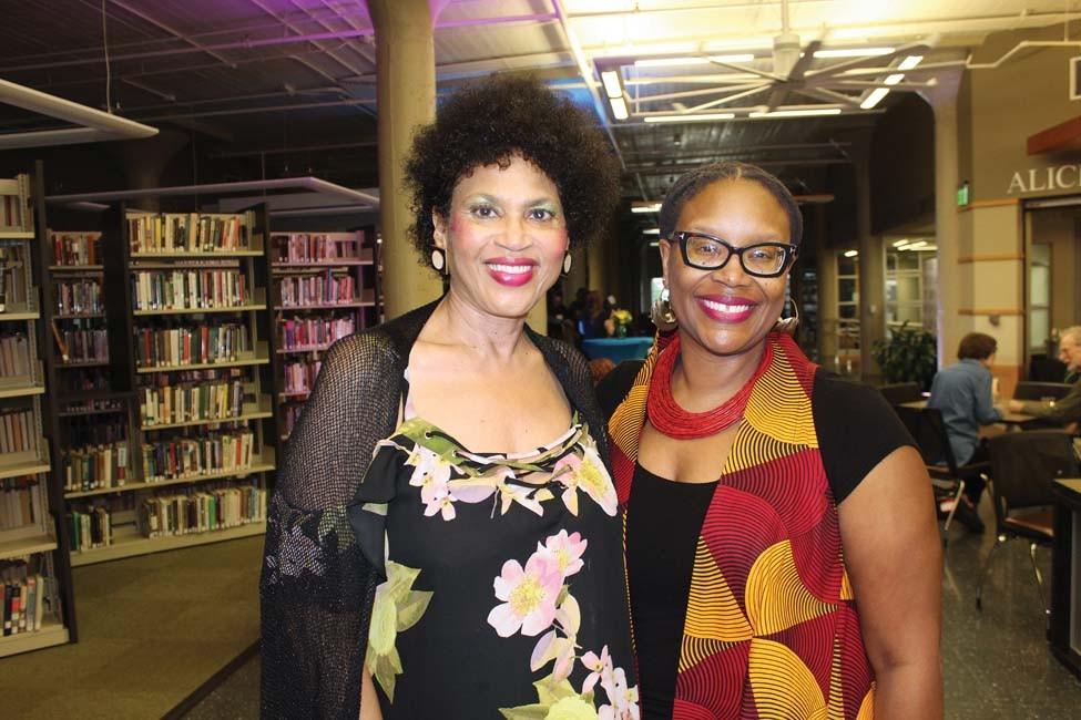 Carolyn Hobbs, Cherisse Jones-Branch