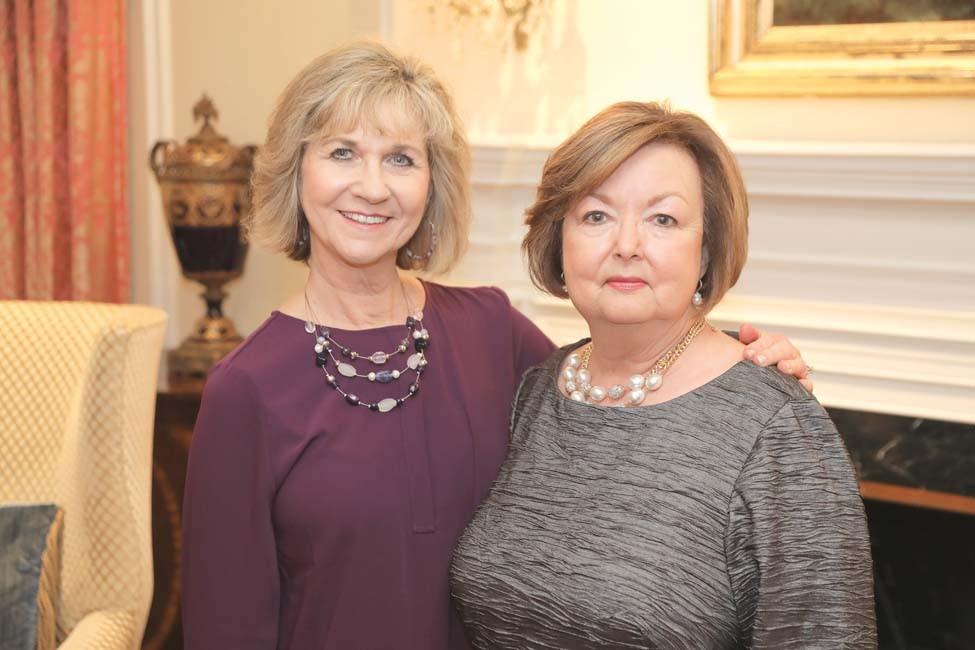 Ruth Dudding and Nancy Brisher
