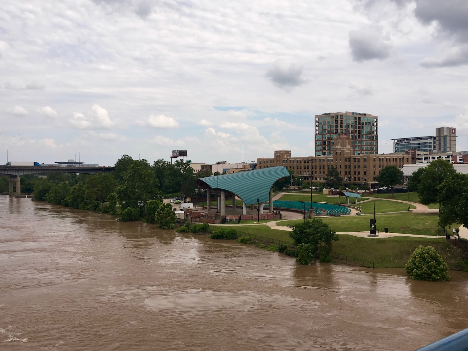 Levees Strained as Arkansas River Stays at Record Levels