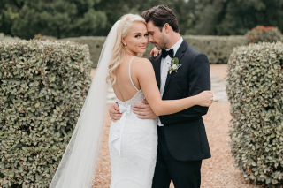 Former Miss America Savvy Shields Marries Nate Wolfe in a Floral-Filled Wonderland
