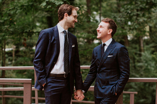 Back to Their Roots: Chris Marsh + Jonathan Parkey's Little Rock Wedding