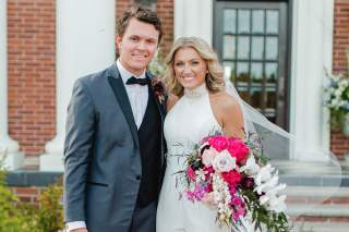Suzie + Drake Barham Tie the Knot at Hope Municipal Airport