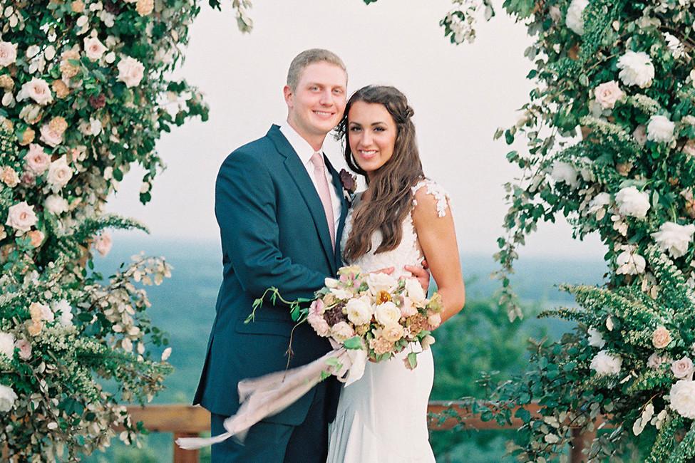 Ashton + Drew Smith's Modern Rustic Wedding At Meadow On